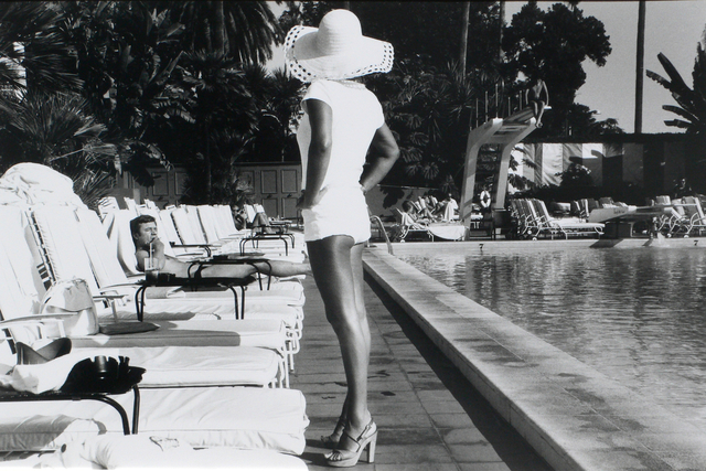 , 'Woman by the Pool - Beverly Hills Hotel, California,' 1975, CHRISTOPHE GUYE GALERIE
