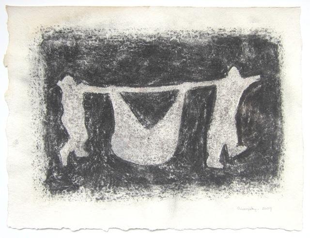 , 'Cargueros (a),' 2009, Casas Riegner