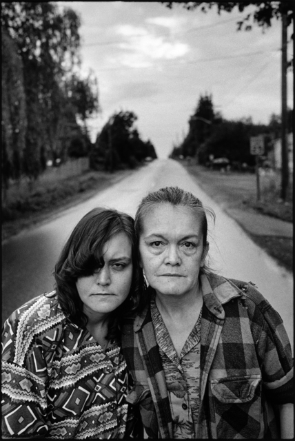 , 'Tiny and Pat, along the road,' 1993, Norton Museum of Art