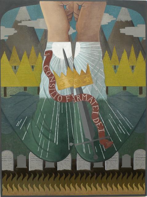 , 'Saint Sweater,' 2017, DC Moore Gallery