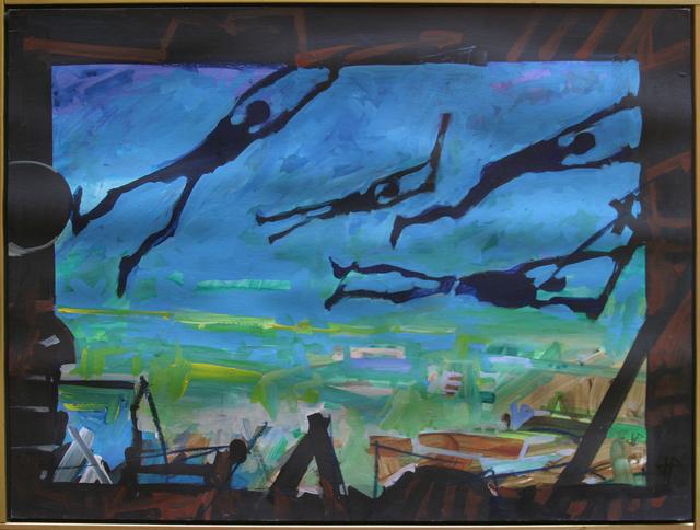 , 'Flags,' 1980, Anita Shapolsky Gallery
