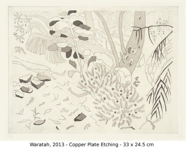 , 'Waratah,' 2013, Art Atrium