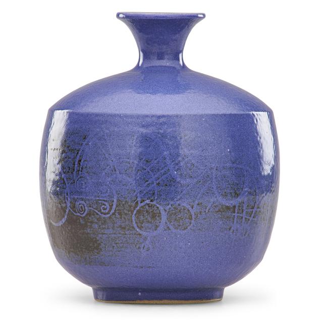 Aaron Bohrod, 'Vase with abstract design', Rago