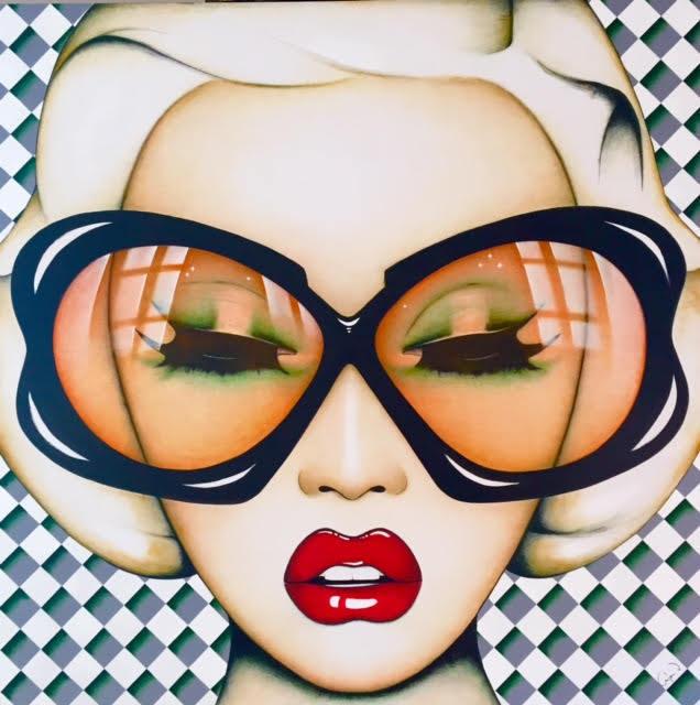 Anja Van Herle, 'Anja Van Herle, These Lips are Made For Talking', 2016, Oliver Cole Gallery