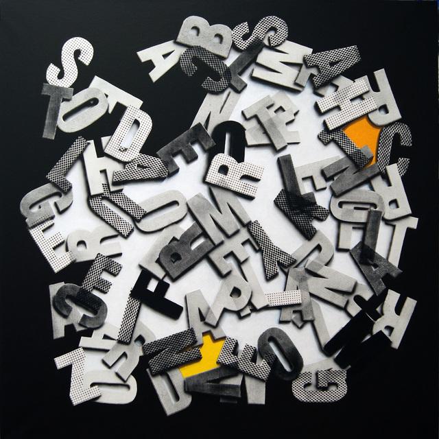 , 'Poema del Supermercado 1,' 2011, Galería Weber-Lutgen