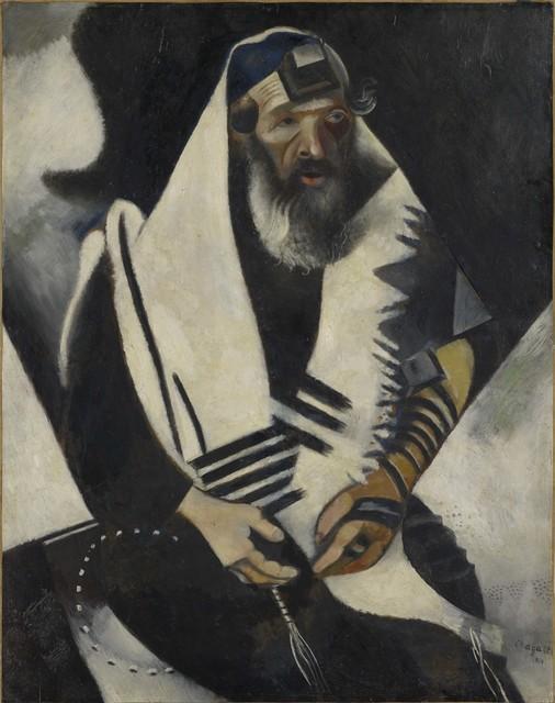 , 'Jew in Black and White (Le juif en noir et blanc),' 1914, Guggenheim Museum Bilbao
