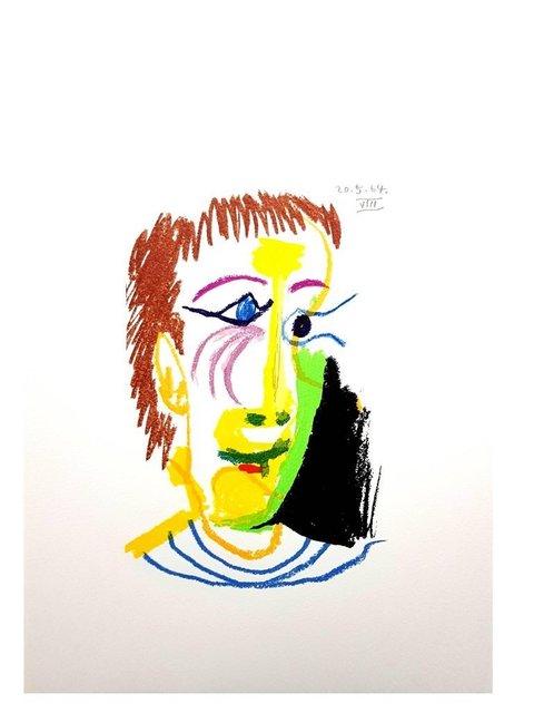 """Pablo Picasso, 'Lithograph """"Le Goût de Bonheur I"""" after Pablo Picasso', 1970, Galerie Philia"""