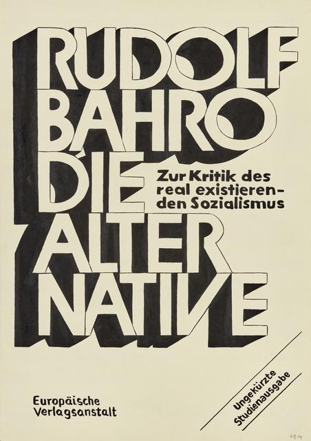 , 'Die Alternative, Slow Future,' , Galería Lucia de la Puente