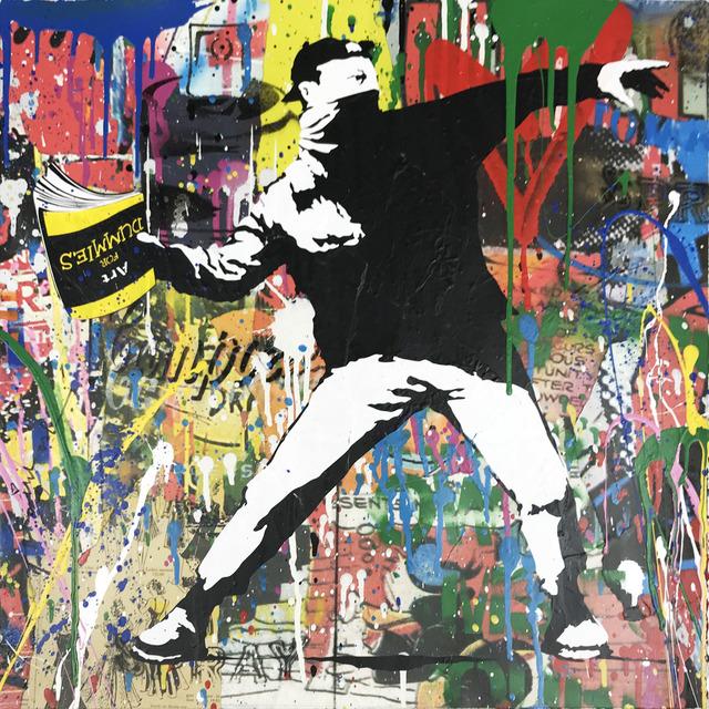 , 'Banksy Thrower,' 2018, Hamilton-Selway Fine Art