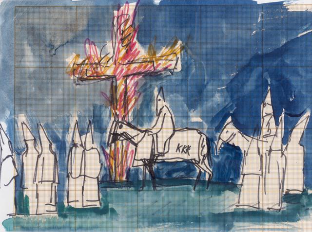 , 'Untitled (Ku Klux Klan),' ca. 1965, Cosmocosa