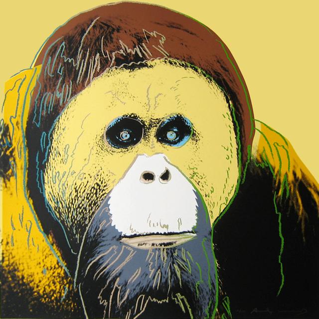 Andy Warhol, 'Orangutan, from the Endangered Species Portfolio', 1983, Joseph K. Levene Fine Art, Ltd.