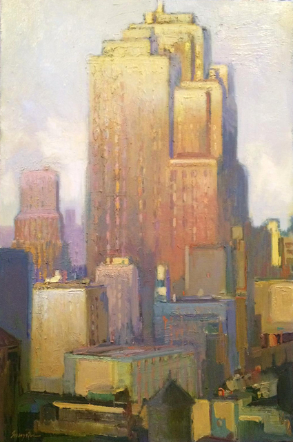 ", '""Deco Rising"",' 2018, Bonner David Galleries"