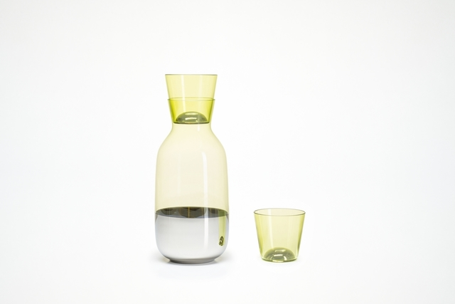 , 'Carafe and tumbler, from Chromos collection,' 2014, Cooper Hewitt, Smithsonian Design Museum