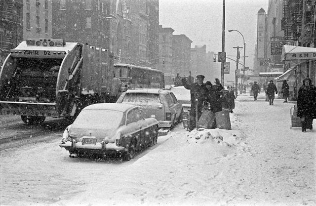 , 'Snow in Manhattan 4,' 1978, Ana Mas Projects