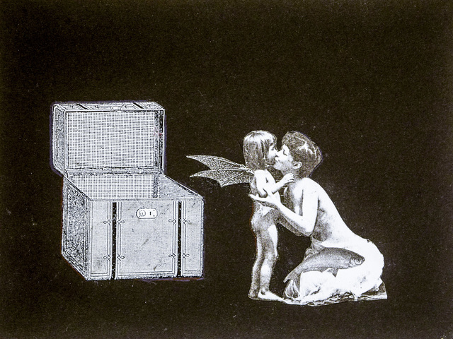, 'Phantom Canyon (mother kissing batwing child),' , Robischon Gallery