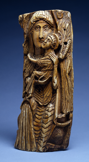 'Virgin and Child', 7th-8th century, Walters Art Museum