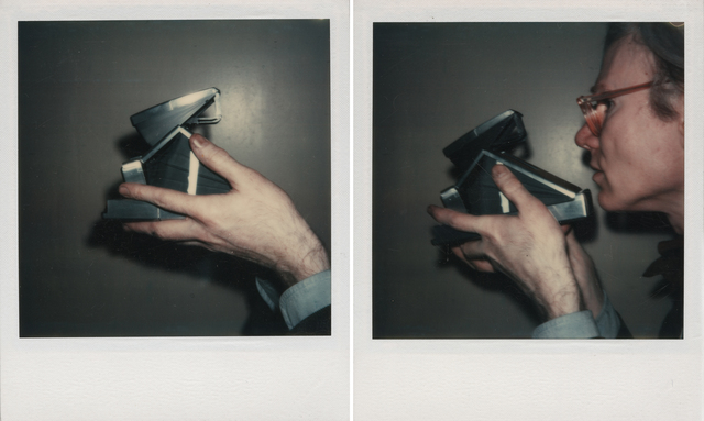 Andy Warhol, 'Self-Portrait', 1973, Photography, Two unique polaroid prints, Christie's Warhol Sale
