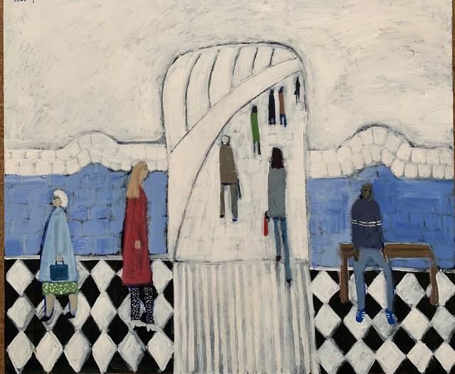 David Fawcett, 'Tube platform ', Contemporary, D-Contemporary