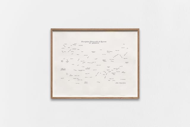 Guillaume Constantin, 'DU ROYAUME DE GALANTERIE', 2019, Galerie Bertrand Grimont