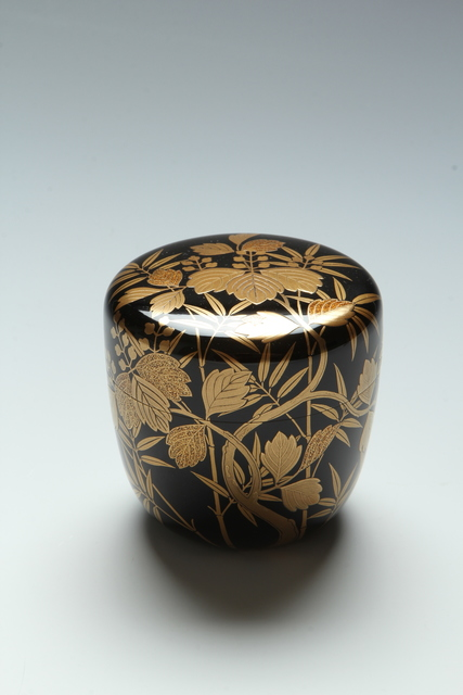 , 'Bamboo and Paulownia Tea Caddy (T-3984),' Showa era (1926-1989) 1980s, Erik Thomsen