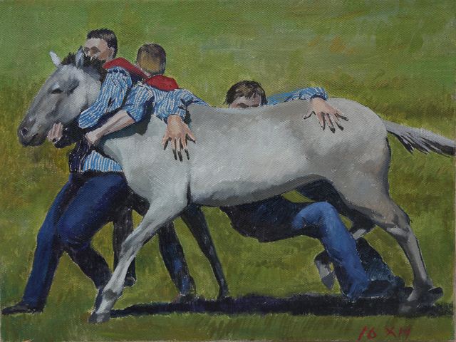 , 'Testament of Horse Abdomen - Taming The Horse,' 2016, Leo Gallery