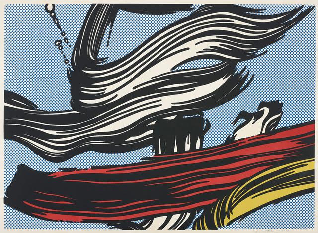 Roy Lichtenstein, 'Brushstrokes', 1967, Phillips
