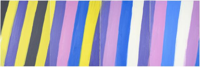 , 'Stripe (Quadruple Stripe, 7-29-15–10-31-15), 2015,' 2015, Nina Johnson