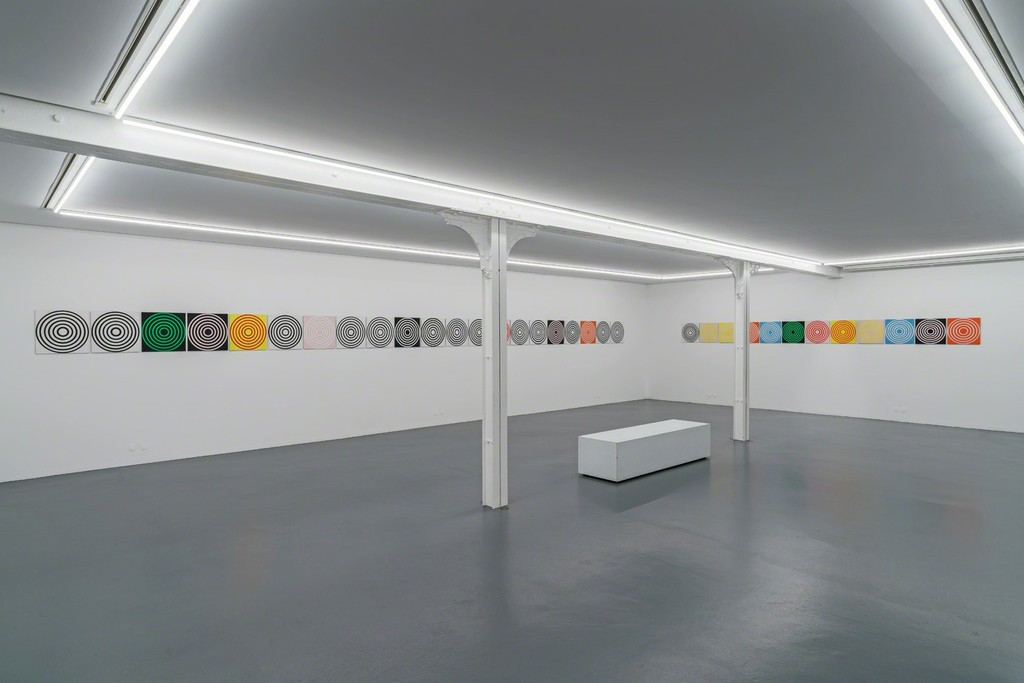 Michael Scott, Circle Paintings, exhibition view, Xippas Paris (December 15, 2018 - February 16, 2019)