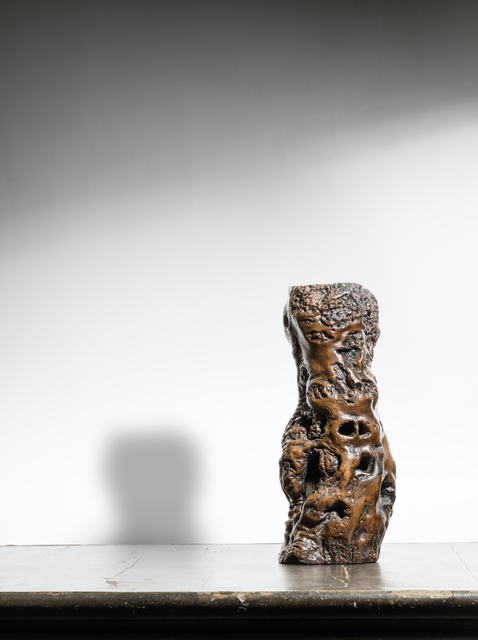 , 'A naturally formed root wood vase 天然木瓶,' , Rasti Chinese Art
