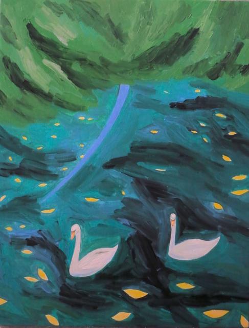 , 'yellow submarine,' 2016, Gallery Side 2