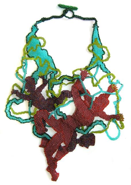 Joyce J. Scott, 'Ribbon Dancers', 2009, Mobilia Gallery