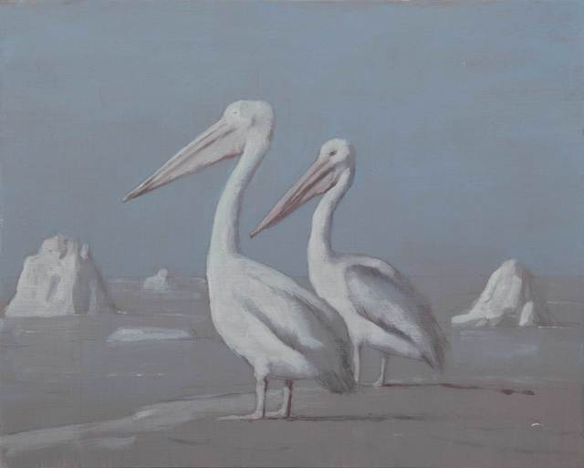, 'Untitled (Pelicans),' 2015, Jeanne Bucher Jaeger