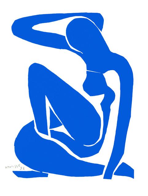 , 'Nu Bleu I (Blue Nude I),' 2007, Art Lithographies