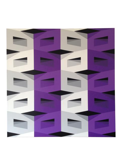 , 'Vertical Violet,' 2016, Ranivilu Art Gallery