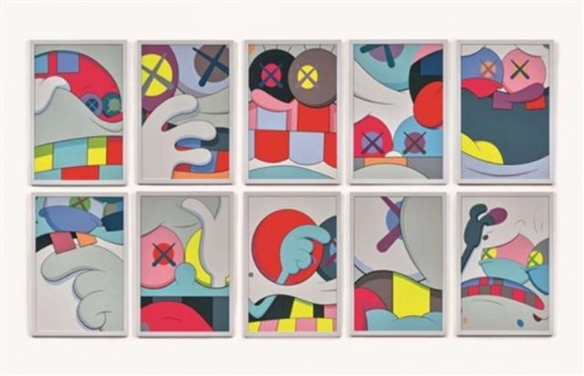 KAWS, 'BLAME GAME', 2014, Marcel Katz Art