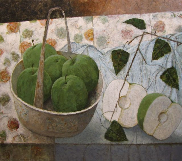 Pierre Lefebvre, 'Panier de pommes', 2016, Galerie de Bellefeuille