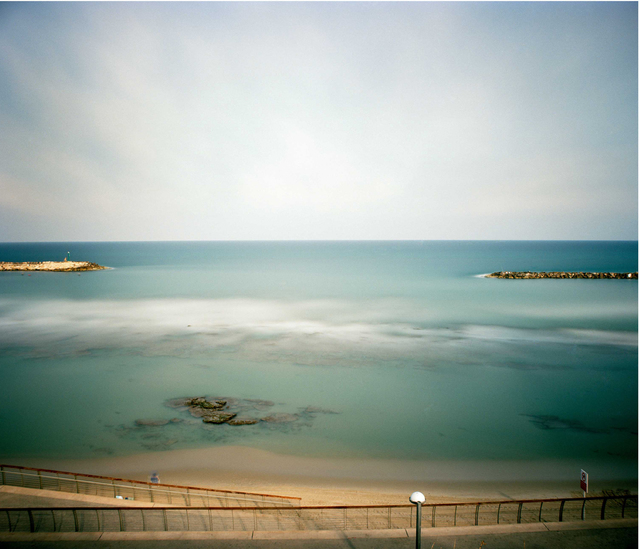 , 'Surfing session, 1 hour exposure, Tel Aviv, Israel,' 2009, Vision Neil Folberg Gallery