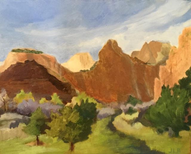 , 'Red Cliffs of Zion,' 2018, Matt Brown Fine Art
