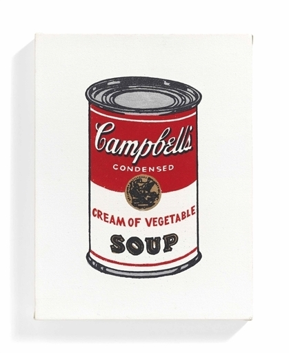 Richard Pettibone, 'Campbell's Coup Can, Cream of Vegetable', Christie's