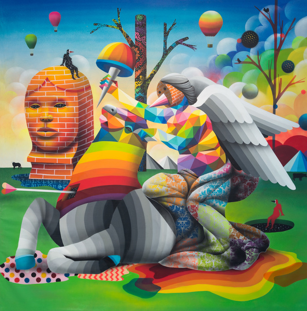 Okuda San Miguel, 'The Victory of Nobody', 2016, Underdogs Gallery