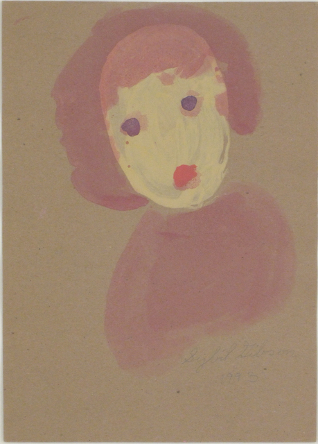 , 'Untitled (Girl with Purple Eyes),' 1993, Woodward Gallery