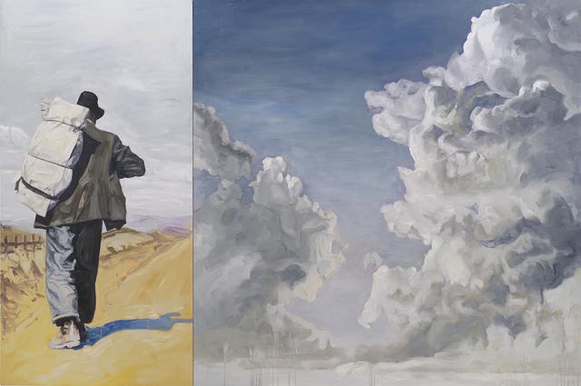 , 'Bindlestiff,' 2015, Nancy Hoffman Gallery