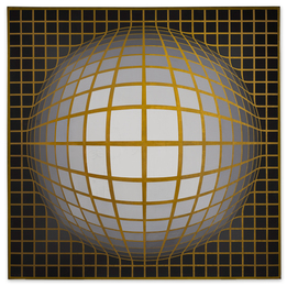 Victor Vasarely, 'RE-NAB-II-B,' 1968, Sotheby's: Contemporary Art Day Auction