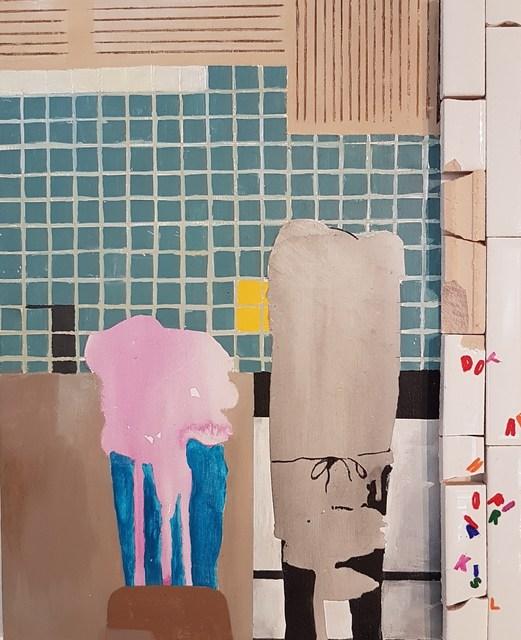 , 'Dot's Kitchen,' 2018, Cerbera Gallery