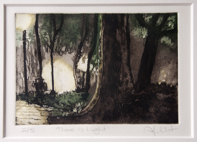 Sonia Gallart, 'There is Light', Open Bite Printmakers