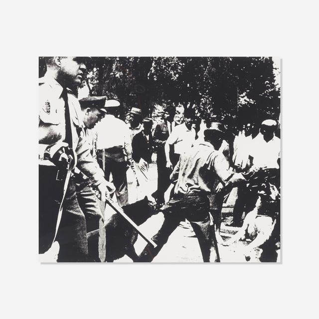 Andy Warhol, 'Birmingham Race Riot (from the Ten Works X Ten Painters portfolio)', 1964, Rago/Wright