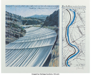 Over The River, Project for the Arkansas River, State of Colorado (two works)