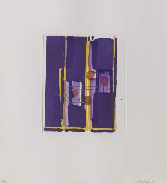 Matt Connors, 'Without title 4', 2019, Polígrafa Obra Gráfica