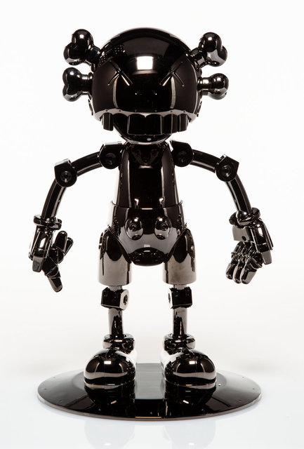 KAWS, 'No Future Companion (Black Chrome)', 2008, Other, Metallized plastic, Heritage Auctions