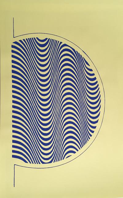 , 'Psychedelic book design # 2,' 2014, Die Ecke Arte Contemporáneo